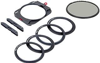 Kase K8 Slim 100mm Filter Holder Kit Includes Magnetic CPL & 67mm 72mm 77mm 82mm Adapters