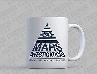 Clicky - Gifts Mug - Mars Investigations Coffee/Tea Mug - Veronica Mars Personality Cup, Coffee Mug 11oZ - Coffe Mug 11oz
