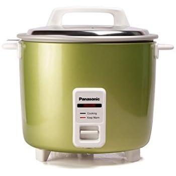 Panasonic SR-WA22H(E) 5.4-Litre Automatic Rice Cooker (Apple Green)