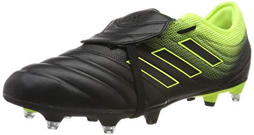 adidas Herren COPA Gloro 19.2 SG Fußballschuhe, Mehrfarbig (Core Black/Core Black/Solar Yellow F36080), 42 2/3 EU