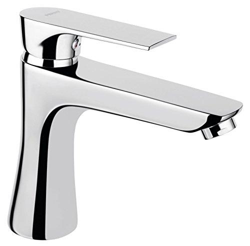 Elegante y grandes–Grifo de lavabo de diseño Serie Algeo Square cromo