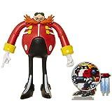 Sonic: Eggman, Figura de acción (tamaño 10 cm) articulada y con Accesorio