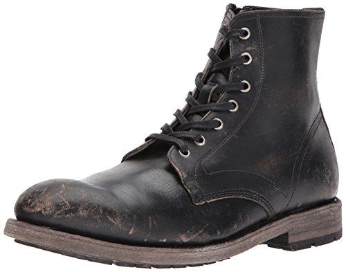 Frye Men's Bowery Lace Up Combat Boot, Black, 11.5
