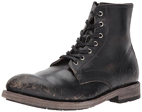 Frye Men's Bowery Lace Up Combat Boot, Black, 11.5 Medium US