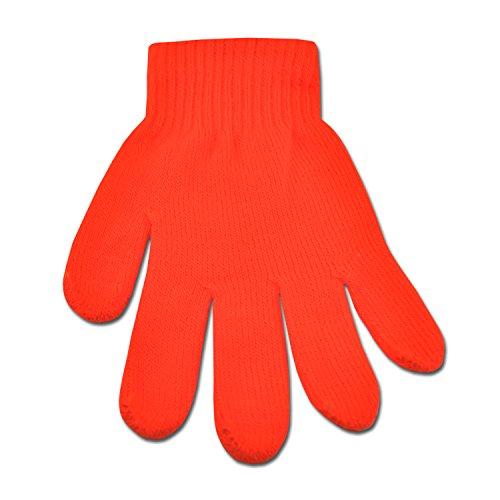 Underground Kulture Gants Hiver Lumineux Orange (Bright Winter Gloves Orange)