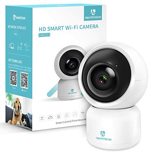 HeimVision ネットワークカメラ 1080P 200万画素 WIFI/LAN-ケーブル接続 技適認証済み HM203