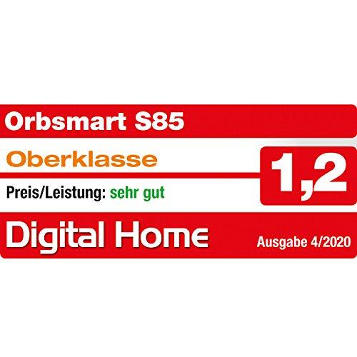 Android TV Box Orbsmart S85 4K (UHD) HDR10+ Smart TV Mini PC (Quadcore-CPU S905X3, 4GB DDR4 RAM, HDMI 2.1, WLAN-ac, BT 4.2)