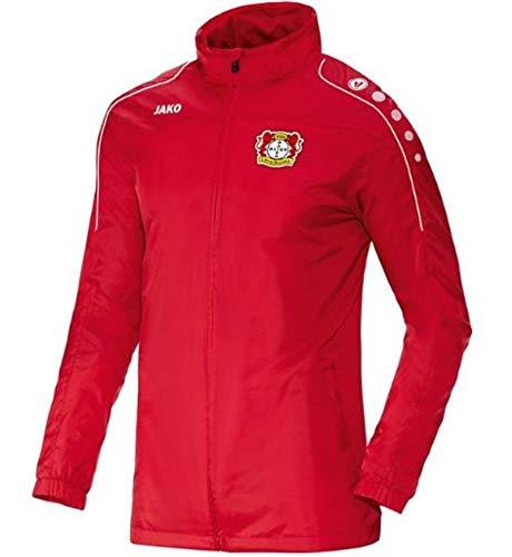 Jako Bayer 04 Leverkusen Team Allwetterjacke 2016/2017 rot Kinder rot, 164