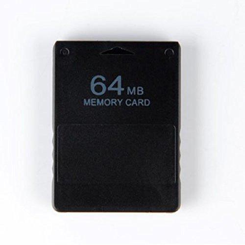 OSTENT Schnelle Geschwindigkeit 64MB Speicherkarte Stick Unit Memorykarten Kompatibel für Sony Playstation 2 PS2 Slim Konsole Videospiele