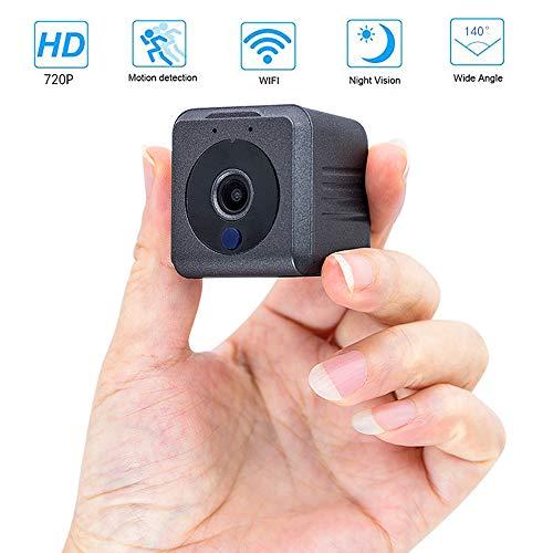MUXAN Spy Camera, IDV 720P Mini Verborgen Camera, Draagbare Bewakingscamera met Nachtzicht en Bewegingsdetectie, Baby/Huisdier/Nanny Monitor, voor Thuis, Kantoor, Auto, Drone