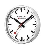 Mondaine Reloj de pared circular circular hojas de sierra – A990. 16SBB