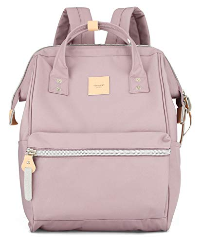Himawari - Mochila de viaje con puerto de carga USB, tamaño grande, bolsa de pañales, mochila escolar para mujeres y hombres