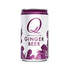 Q Mixers Ginger Beer has a fresh, bold flavor with a smooth sweetness that brings out the best in your vodka, rum, or whiskey Made with real ingredients like ginger and Organic Agave No artificial flavors, no High Fructose Corn Syrup More carbonation...