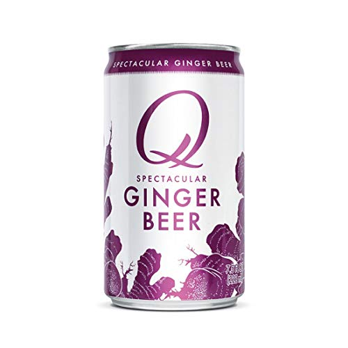 Q Mixers Ginger Beer, Premium Cocktail Mixer, 7.5 oz (12 Cans)