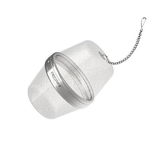 Pedrini Gadget Infusore per Alimenti, Acciaio Inossidabile, Argento, 10 cm