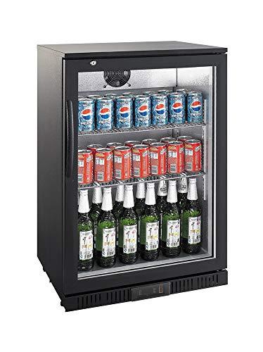 Flaschenkühlschrank 138 L Getränkekühlschrank Barkühlschrank Gewerbekühlschrank Gastronomie Gastro