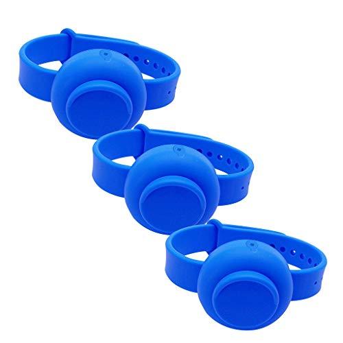 Adult Kid Liquid Wristband Hand Dispenser Handwash Gel With Whole Sanitizing 3PC