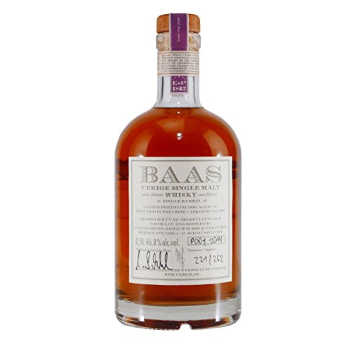 BAAS UERIGE Single Malt Whisky Port 5 J