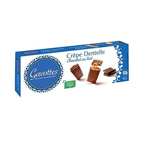 GAVOTTES - Crêpe Dentelle Chocolat Au Lait 90G - Lot De 4