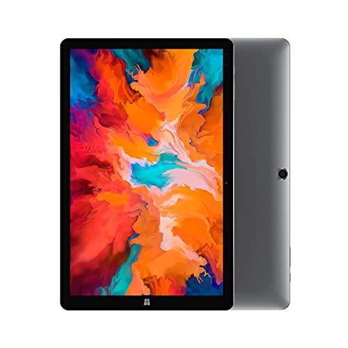 CHUWI Hi10 X,10.1inch Tablet PC,Windows10 Intel N4100,Quad Core 6GB RAM 128GB ROM,1920X1200 IPS Screen,Type-C,BT5.0,WiFi,2 in 1 Tablet(6GB,128GB)