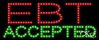 11x 27x 1インチEBT Acceptedアニメーション点滅LEDウィンドウサイン