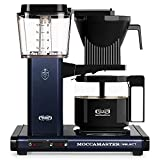 Moccamaster KBG Select Cafetera de filtro, 1520 W, 1.25 litros, Aluminio, Noche azul