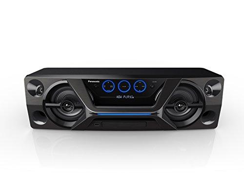 Panasonic HiFi SC-UA3GW-K Wireless Bluetooth Speaker System with CD Player and Karaoke...