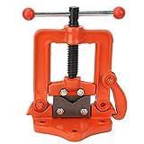 Morsetto girante della Tabella della morsa del tubo del ghisa della morsa della pressa piana piana di 2/3/4 di pollice per la macchina della fabbrica(2in)