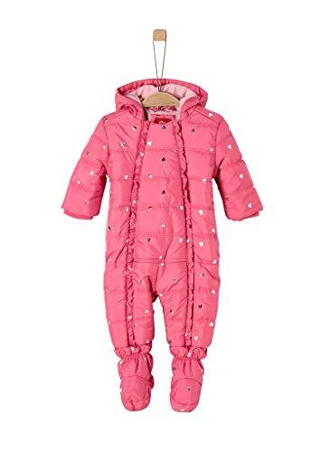 s.Oliver Baby-Mädchen 59.909.85.8871 Schneeanzug, Rot (Red AOP 45a1), (Herstellergröße: 92)