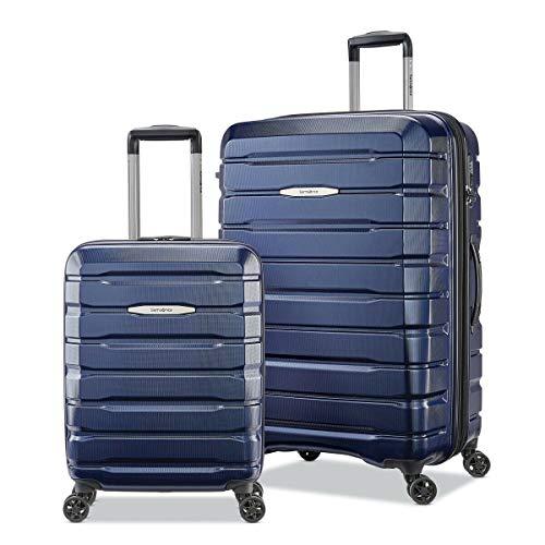 Samsonite Tech-3 - Set di valigie, 2 pezzi, colore: Blu scuro