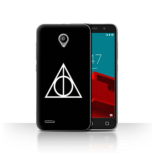 Stuff4® Phone Case/Cover/Skin/Vd de CC/Magic Hallows Inspired–Collection Negro Vodafone Smart Prime 6