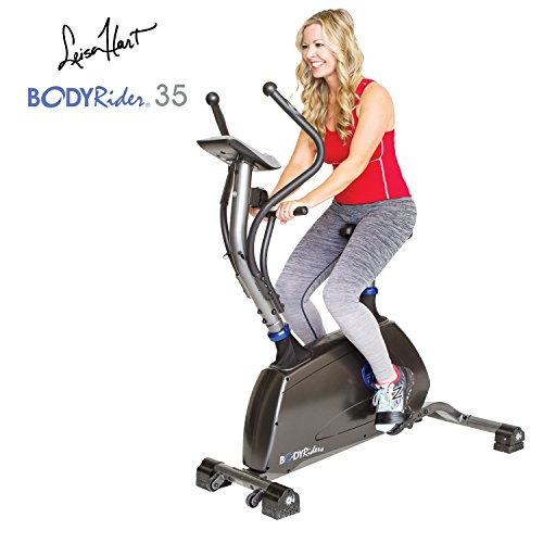 Body Rider The 35 Core & Cardio Workout Ab & Thigh Exercise Gallop Workout Trainer Machine, Silver/Blue HBR35