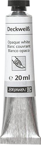 Brunnen 1048804 Deckweiß (Deckfarben, 20 ml)