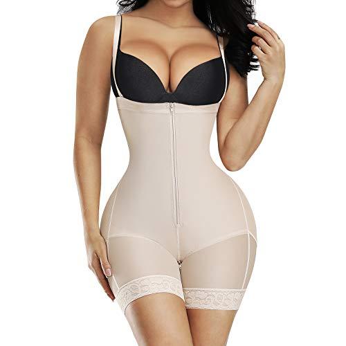 Shapewear for Women Seamless Firm Triple Control Underwear Bodysuits Plus Size Body Shaper Skin S
