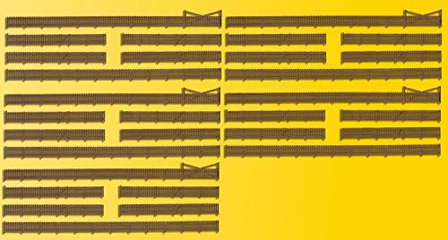 Kibri 37225 - N Zaun mit Toren, Figuren und Ausschmückungen, 230 cm