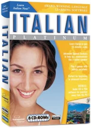 Learn Italian Now Platinum Edition product image