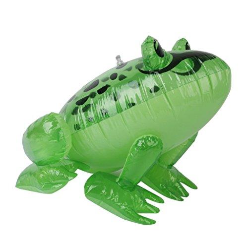 Preisvergleich Produktbild Aufblasbare Frog Kids Parteibevorzugungen Pool Strandspielzeug Sprengen