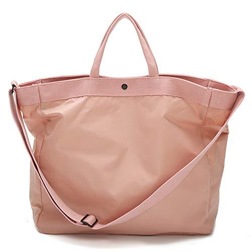 BKAUK reistas met grote capaciteit, handbagage voor dames, lichtroze reistas, waterdicht, geschikt voor liefhebbers roze