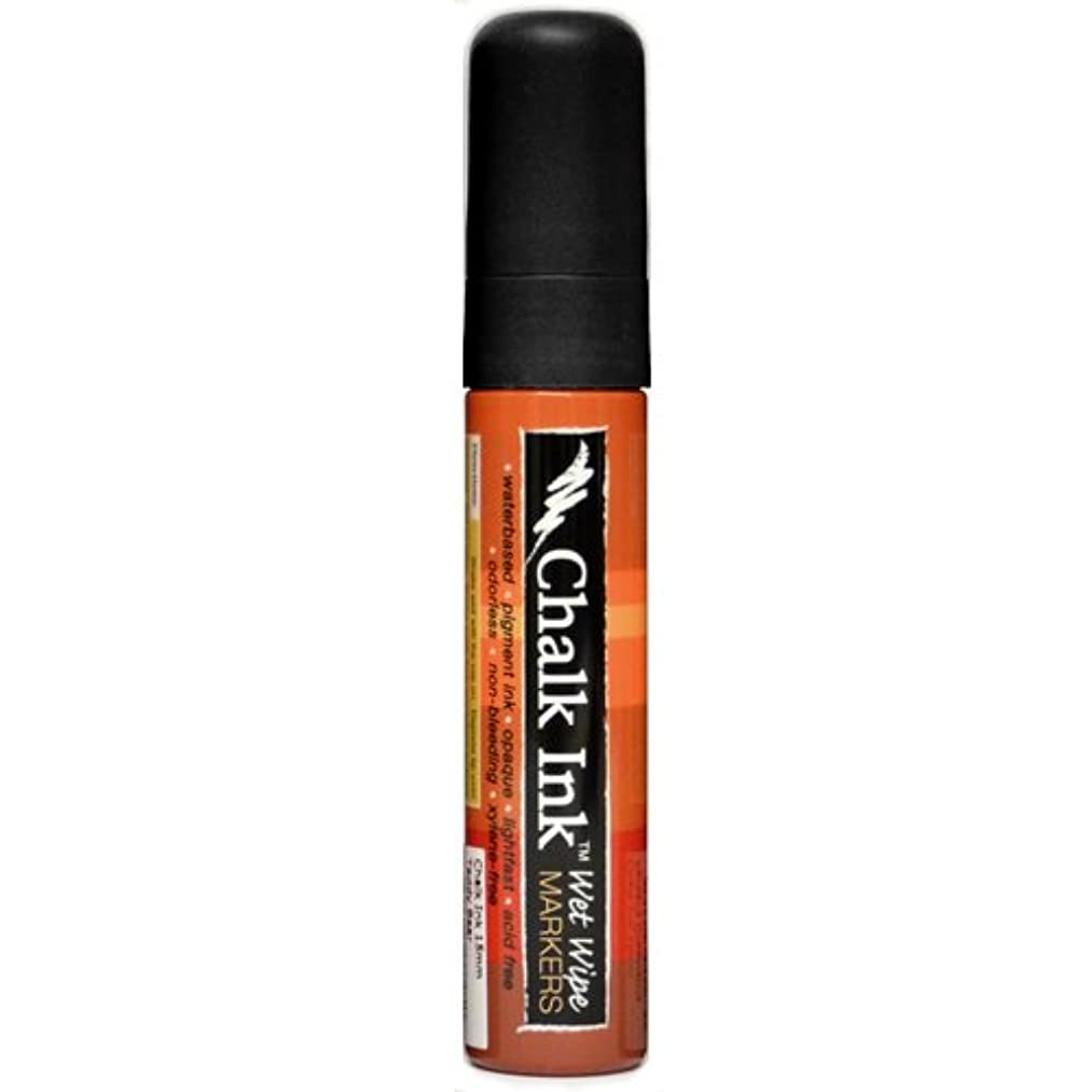 Chalk Ink Bold Wet Wipe Marker, 15 mm, Jack Black
