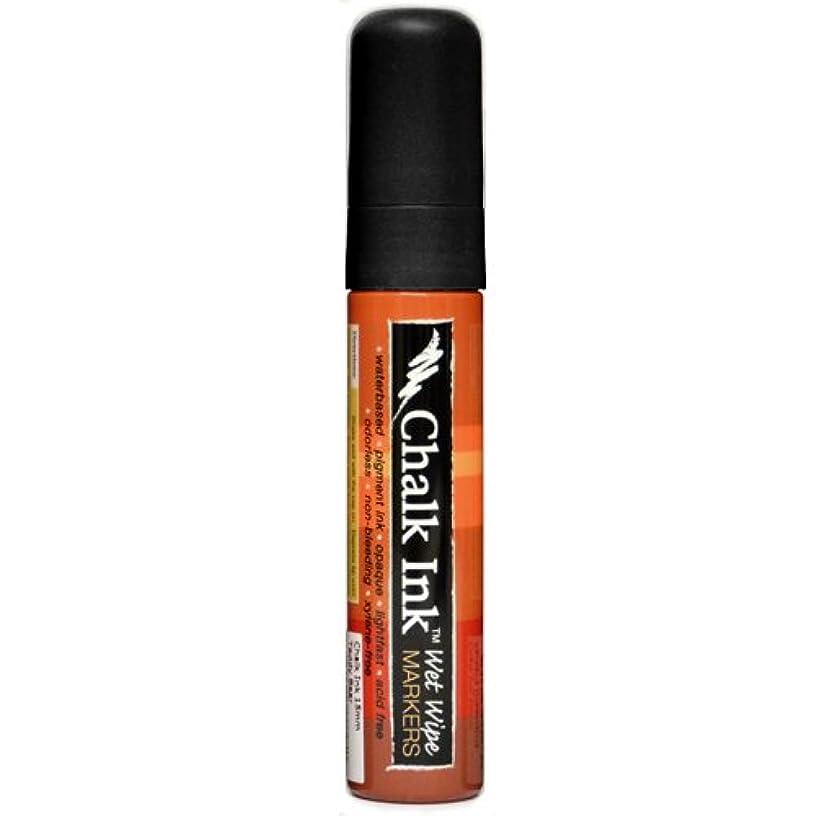 Chalk Ink Bold Wet Wipe Marker, 15 mm, Jack Black