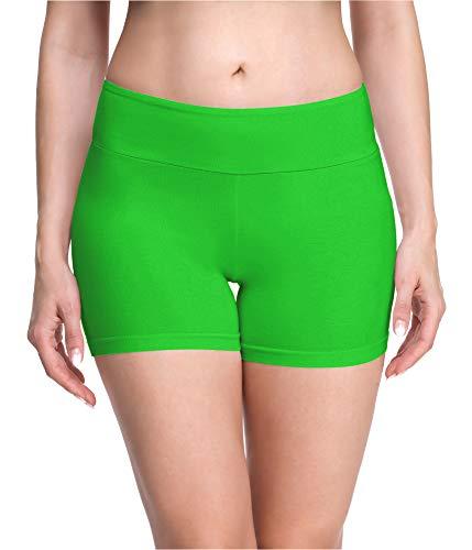 Merry Style Culote de Ciclismo Mallas Cortas Leggins Mujer MS10-284(Verde,M)