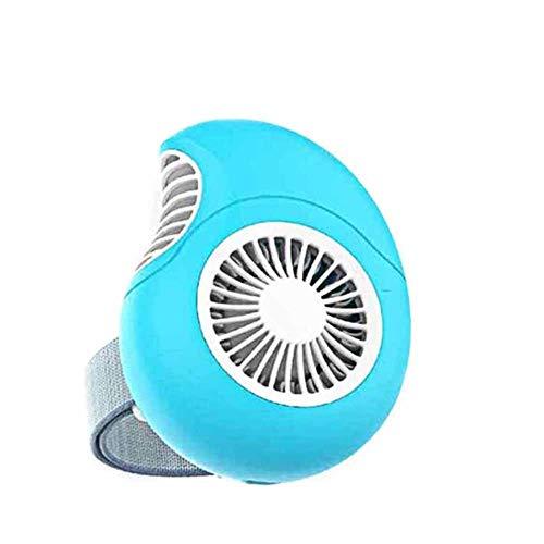 Chamomile1011 Ventilador Tiktok Ventiladores Miran Rosa para IR Móvil,Azul Concha