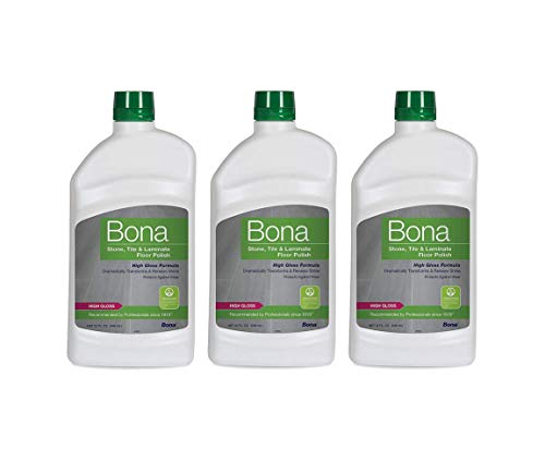 Bona Stone Tile & Laminate Floor Polish, 36 oz, 3 Pack