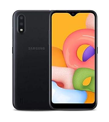 Samsung Galaxy A01 (Verizon) 16GB Black- SM-A015VZKAVZW (Renewed)
