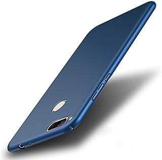 Nubia Z17 ケース + 強化ガラスフイルム 超薄 超軽量プラスチック PCカバー 繊細な手触り 衝撃吸収 防指紋 全面保護携帯ケース ストラップホール付き 取り出し容易 (青)