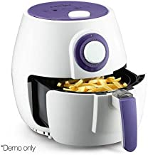 5 Star Chef 2.6L Air Fryer Low Fat Oil Less Cooking Health Multi Cooker w/ Recipe White