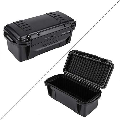 Wosune Caja para Exteriores, Caja de Almacenamiento de Supervivencia,(C Type Waterproof Box: 200 * 98 * 82mm)