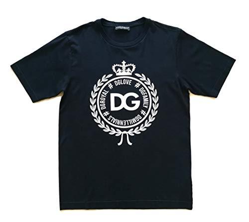 Dolce & Gabbana G8HV4T - Camiseta de manga corta para hombre, color negro Negro 42