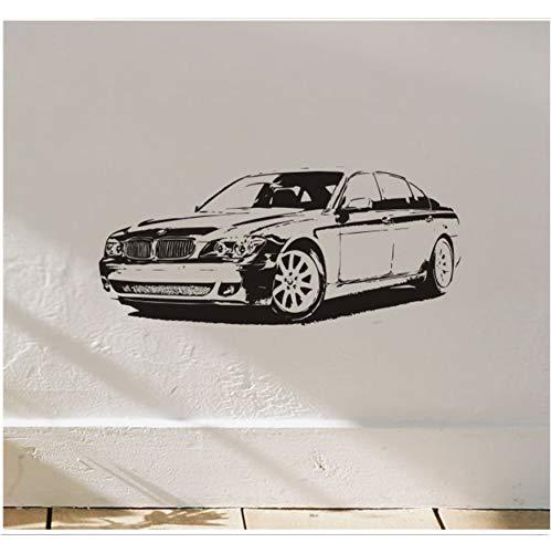 Einfache Wandaufkleber Bmw Auto Vinyl Abriss Wandkunst Aufkleber Kreative Wandbild Für Jungen Schlafzimmer Wohnkultur Wanddekoration