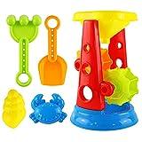 F Fityle 5X Bunt Wasserspielzeug Badespielzeug Badewannenspielzeug - Wasserrad